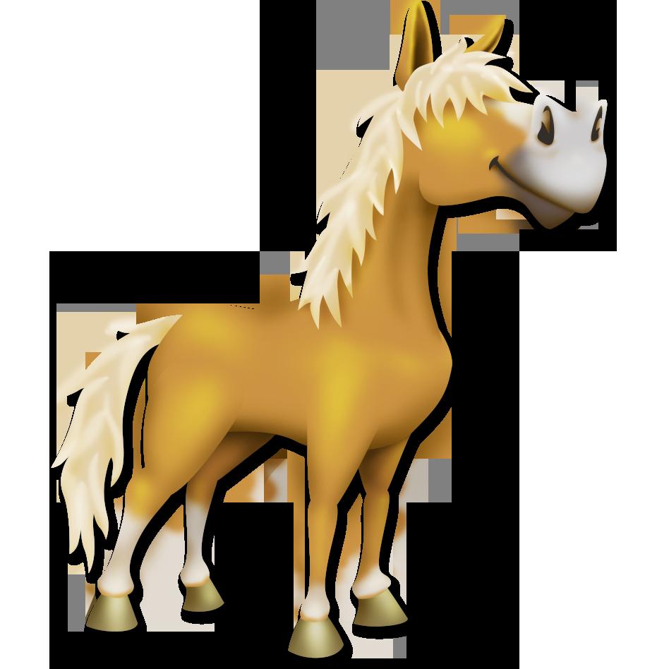 Palomino Horse.