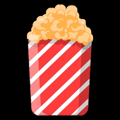 Icono de palomitas de maíz dulce.
