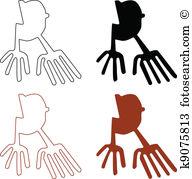 Palpa Clip Art Vector Graphics. 11 palpa EPS clipart vector and.