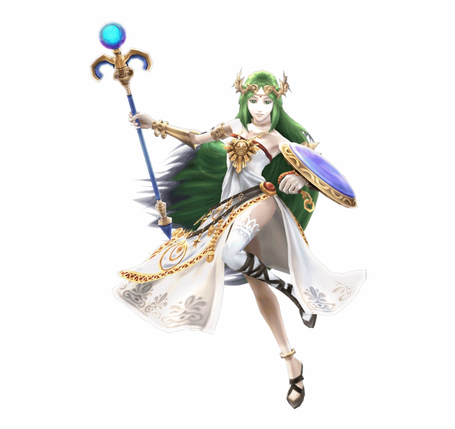 Wht Does Palutena Only Wear 1 Stocking.