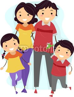 Pamilya clipart 1 » Clipart Station.