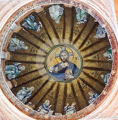 Church Of Theotokos Pammakaristos In Istanbul, Turkey Stock Photo.