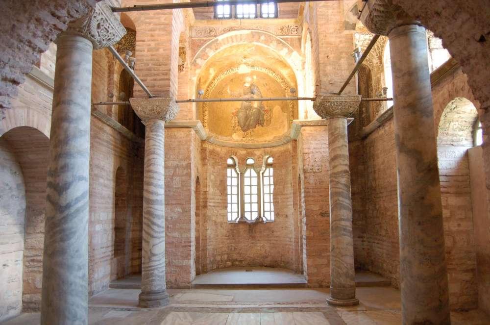 Parekklesion of the Pammakaristos Church, Istanbul.