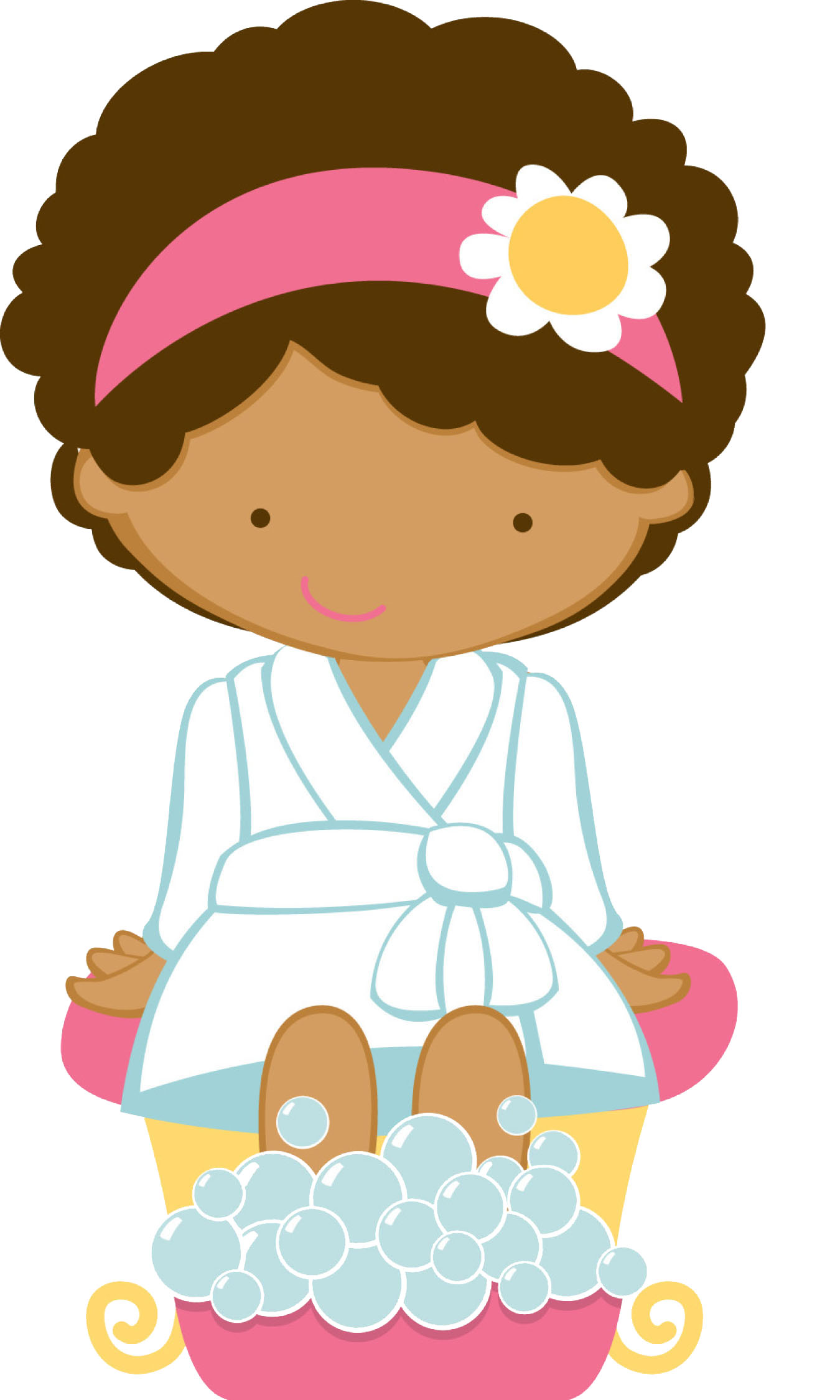 Pamper Yourself Clipart.