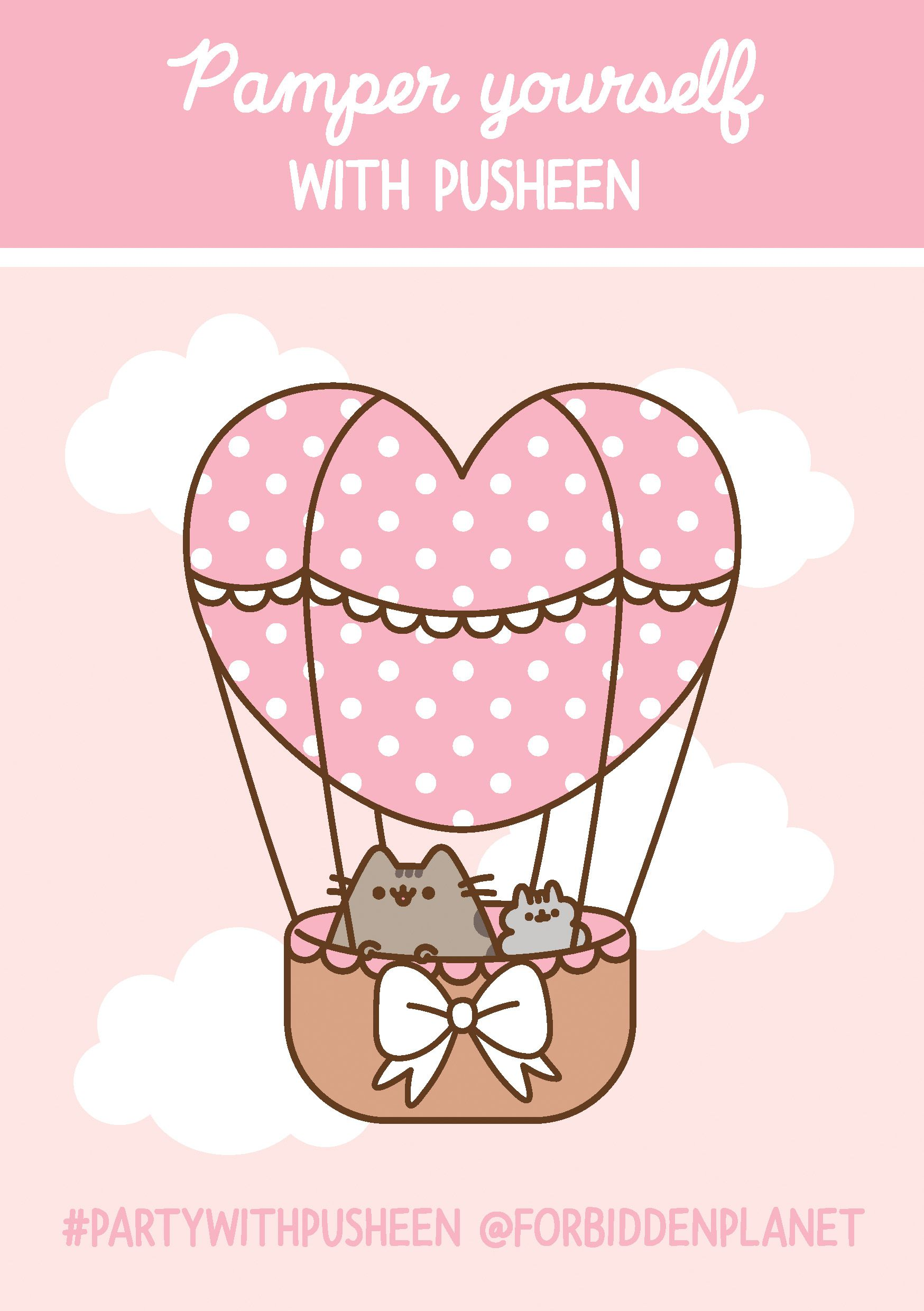 Pamper Yourself With Pusheen @ ForbiddenPlanet.com.