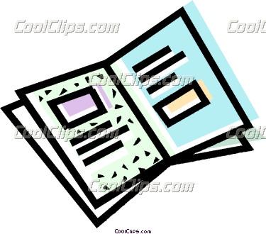 Flyer Clip Art.