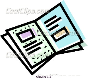 brochure Vector Clip art.