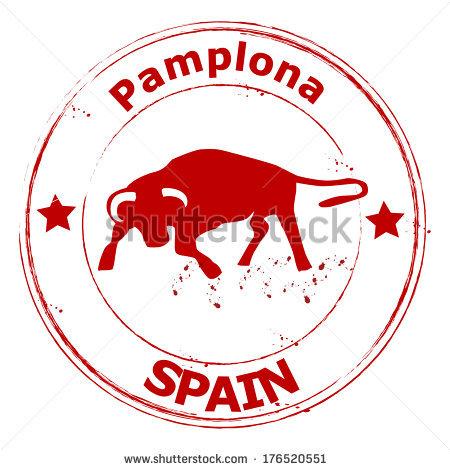 Pamplona Stock Photos, Royalty.