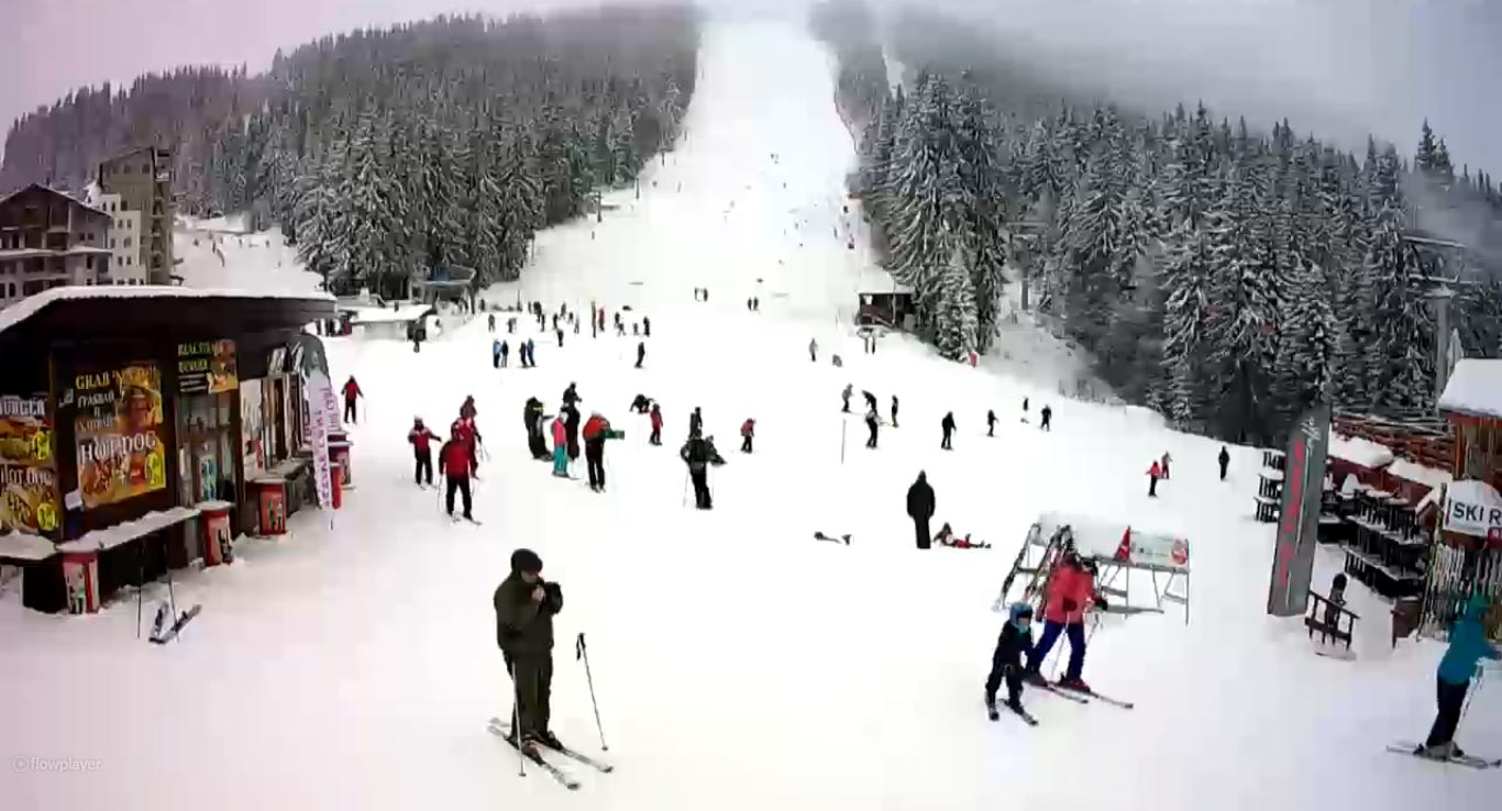 Borovets webcam.