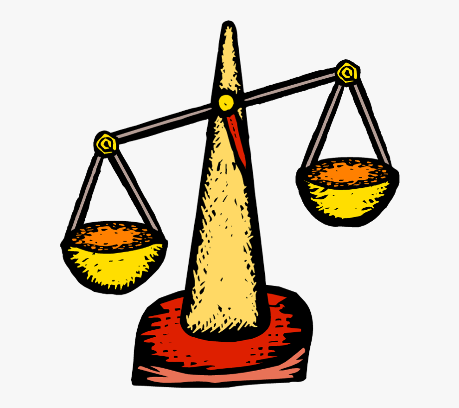 Pan Balance Scale Clipart.