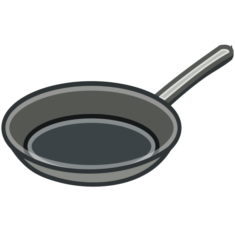 Free Clipart: Tango Style Frying Pan.