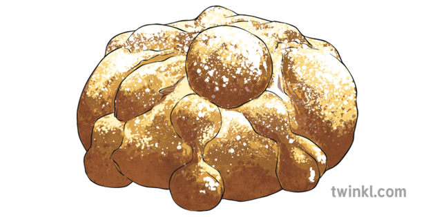 Day of the Dead Pan De Muertos Bread of Death KS2.