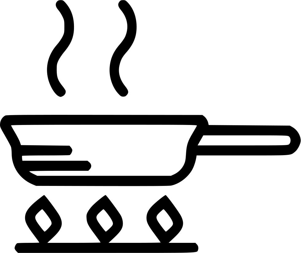 Frying Pan Svg Png Icon Free Download (#482876.
