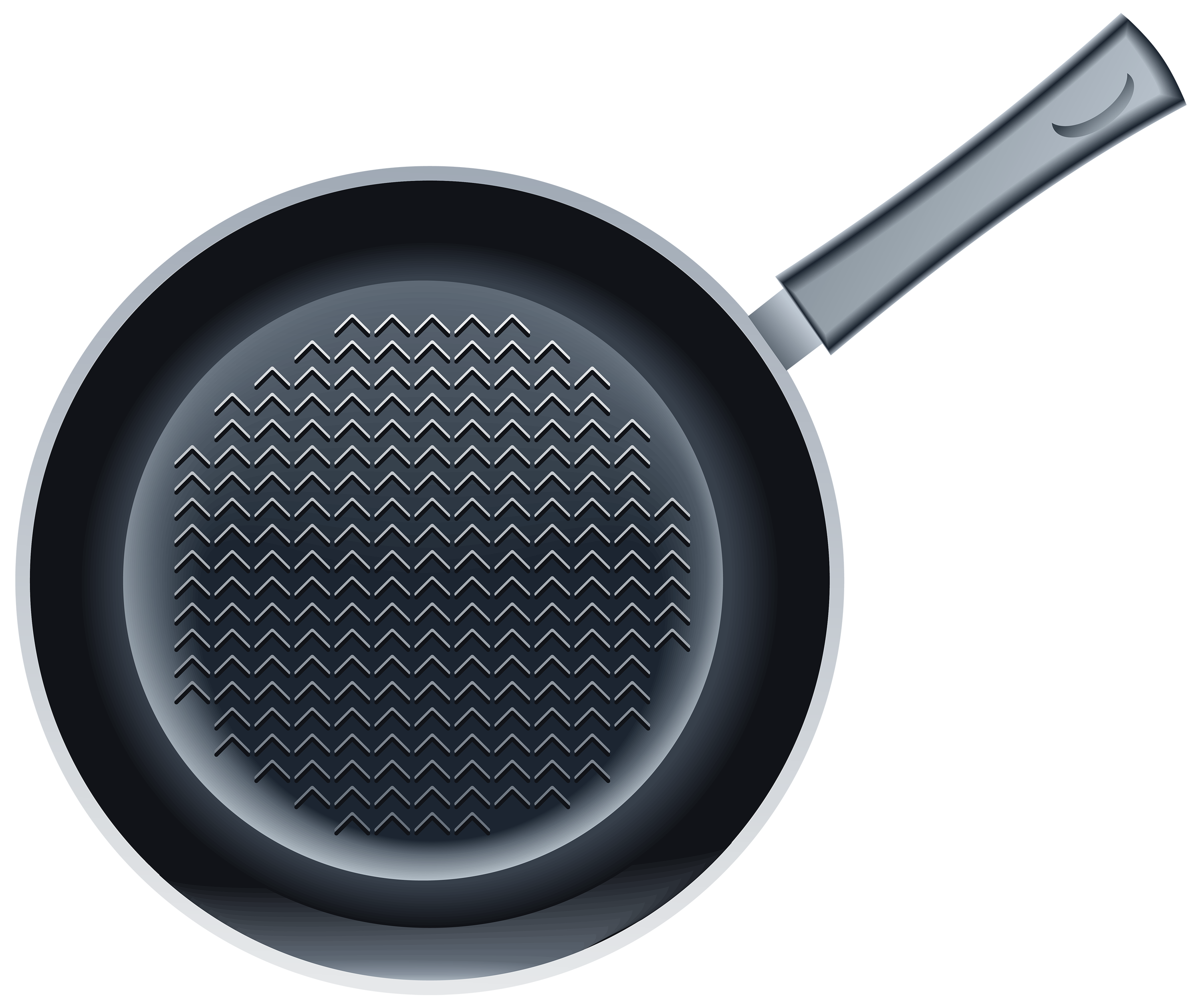 Frying Pan PNG Clipart Image.