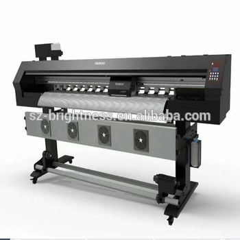 Pana Flex Printing Machine With Epson Locked And Unlocked Dx5 Head.