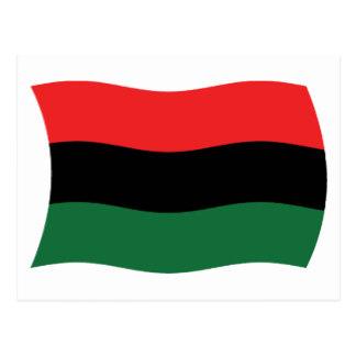 Pan African Flag Postcards.