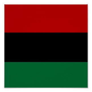 African Flag Posters.