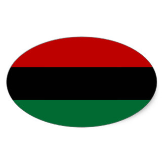Pan African Flag Stickers, Pan African Flag Custom Sticker Designs.