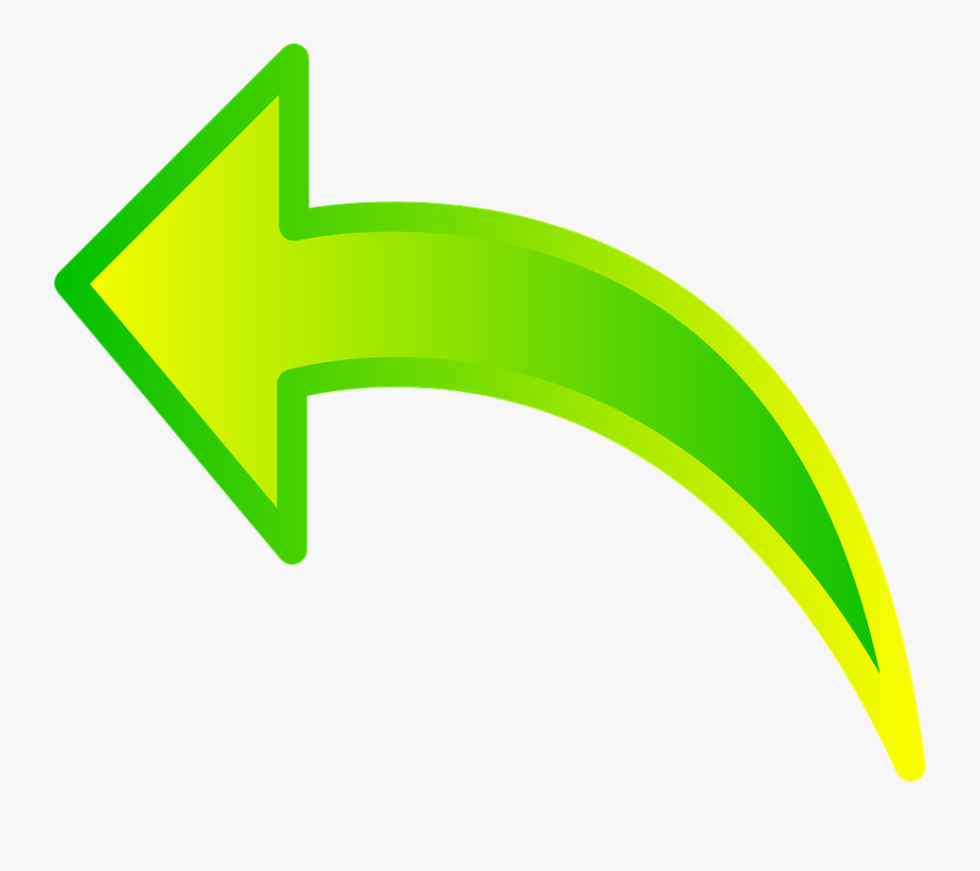 Transparent Curved Arrow Clip Art.