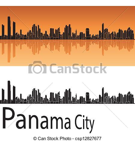 Panama city skyline Vector Clip Art Royalty Free. 19 Panama city.