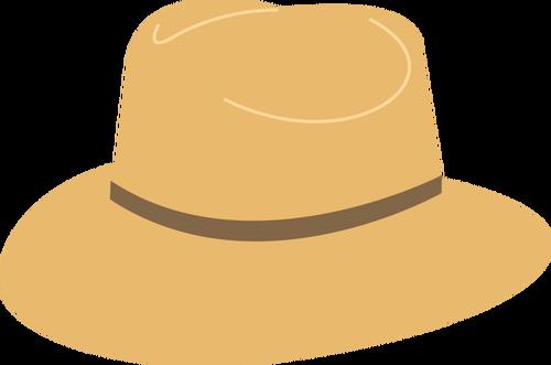 Panama hat vector image.