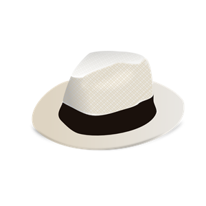Panama Hat clipart, cliparts of Panama Hat free download (wmf, eps.