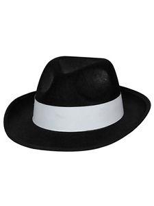 Ganster Hat Cap Clipart.