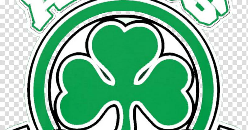 Green Leaf Logo, Panathinaikos Fc, Gate , Clover, Sticker.