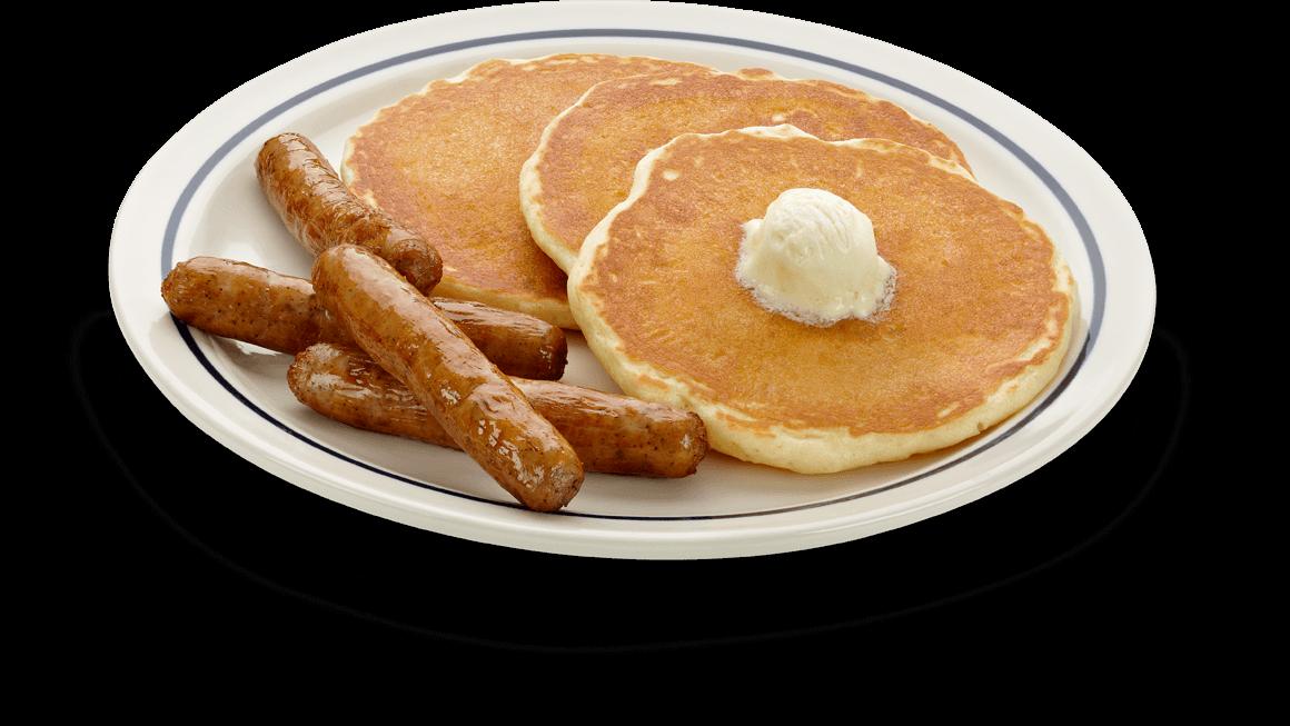 Pancakes clipart sausage patty, Pancakes sausage patty.