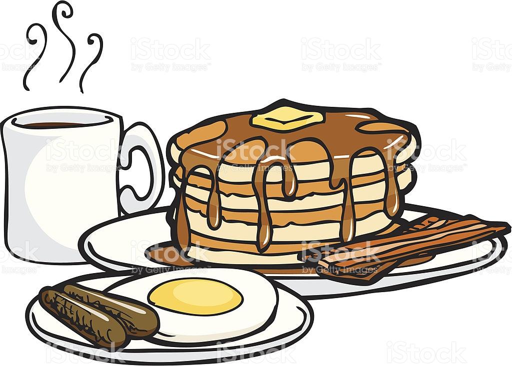 Free Clipart Pancake Breakfast.