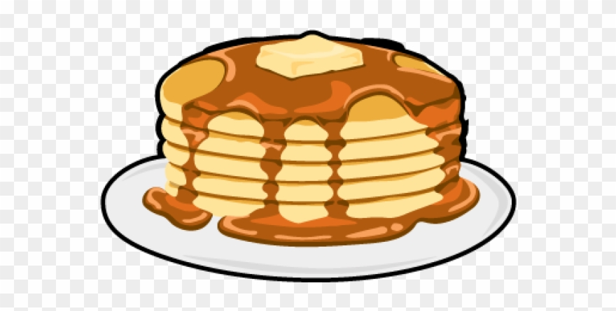 Pancake Clipart Transparent Background.