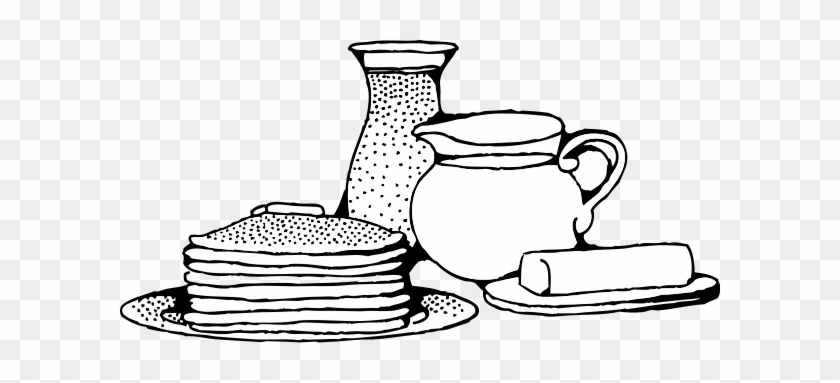 Related Pancake Breakfast Clipart Black And White.