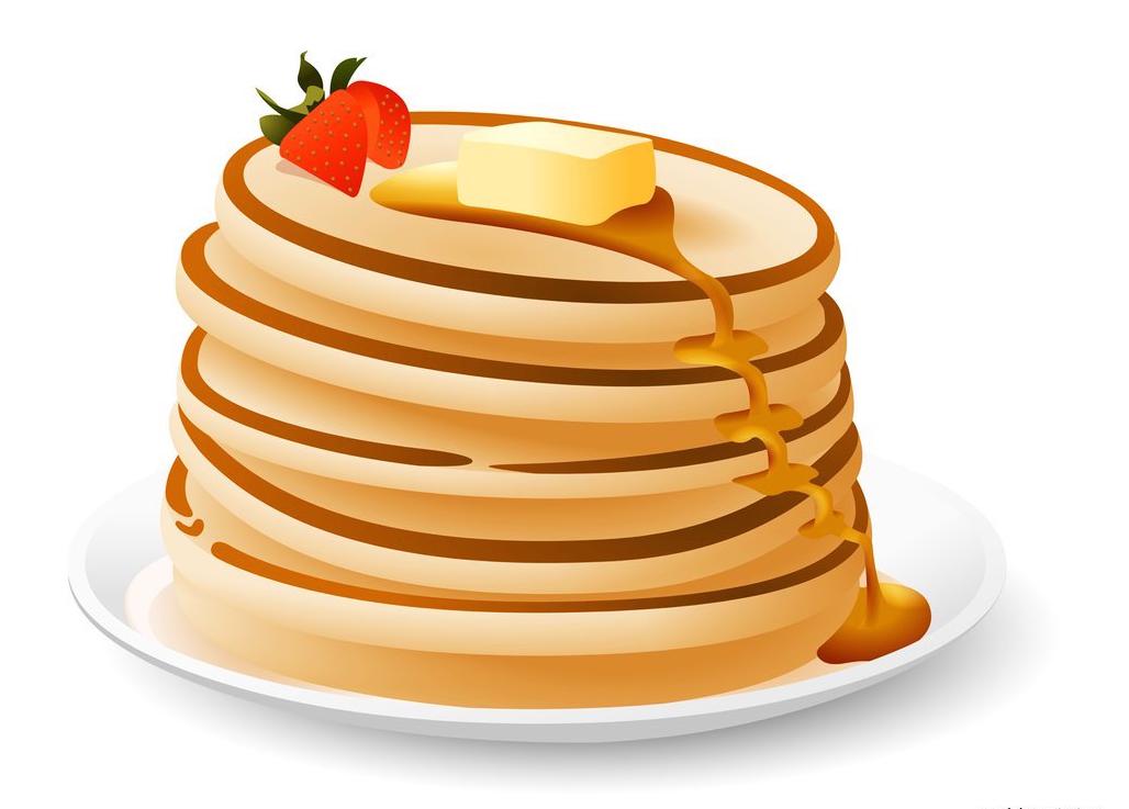 Pancakes Clipart.