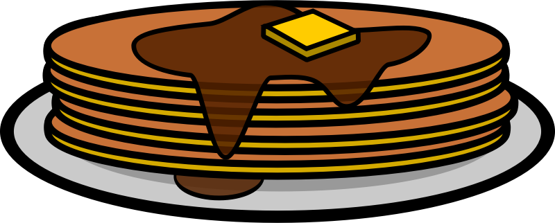 Free to Use & Public Domain Pancake Clip Art.