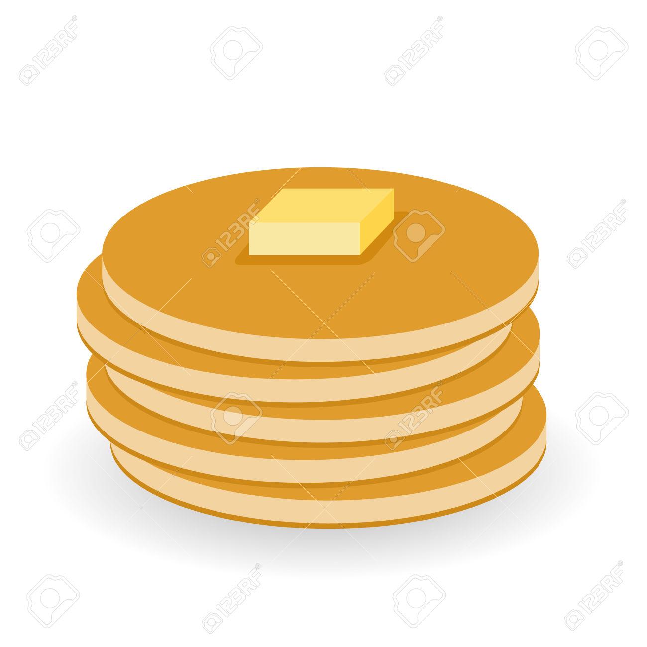 10+ Pancake Clip Art.