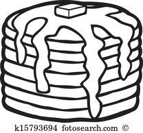 Pancake Clip Art Illustrations. 2,009 pancake clipart EPS vector.