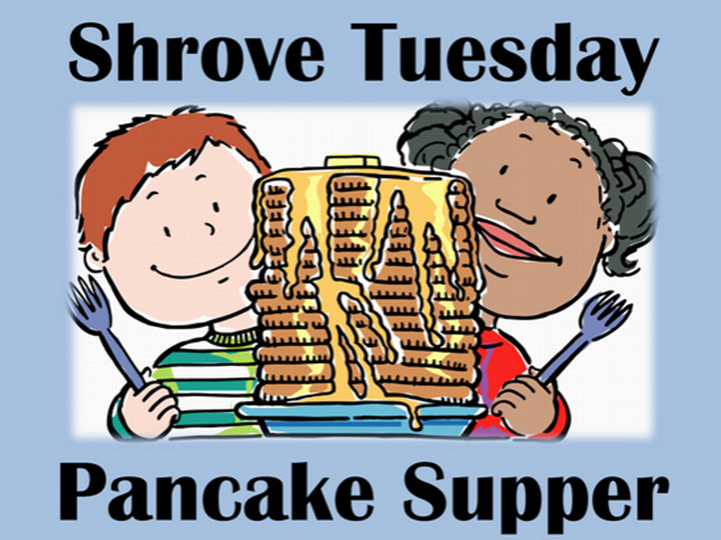 2018 Shrove Tuesday Pancake Supper.