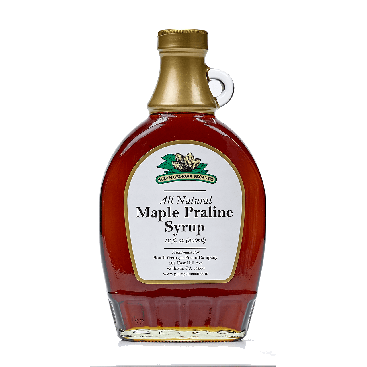 MAPLE PRALINE SYRUP.
