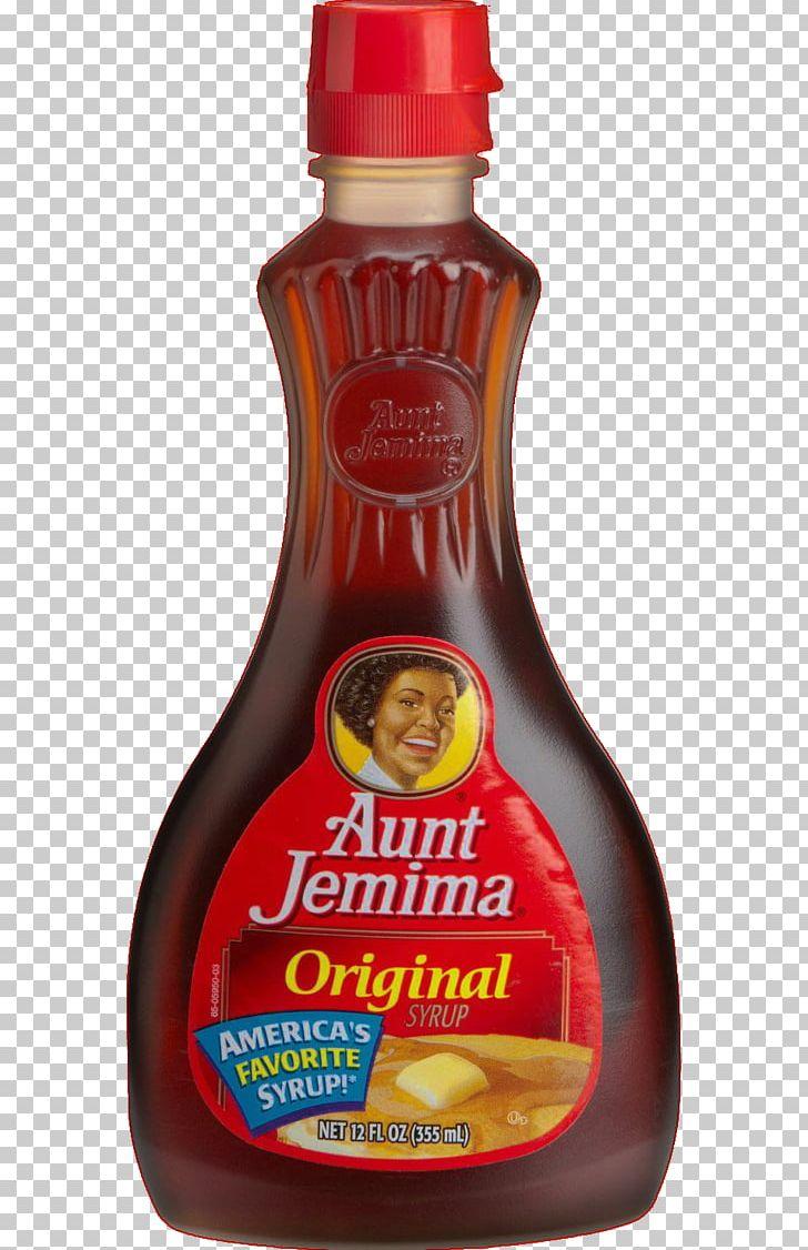 Pancake Aunt Jemima Sauce Marshmallow Creme Syrup PNG.