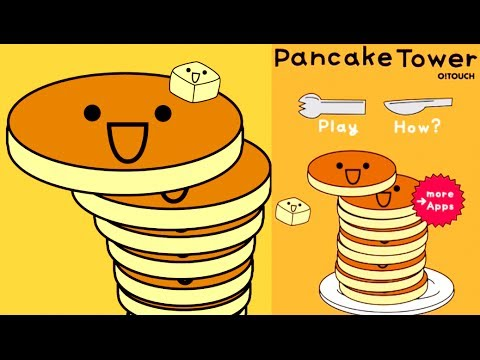 PANCAKE TOWER!!!! (iPhone, iPad, iOS, Android Game).