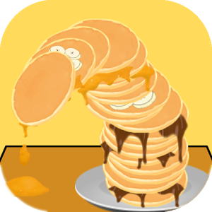 Messy Pancake Tower!.