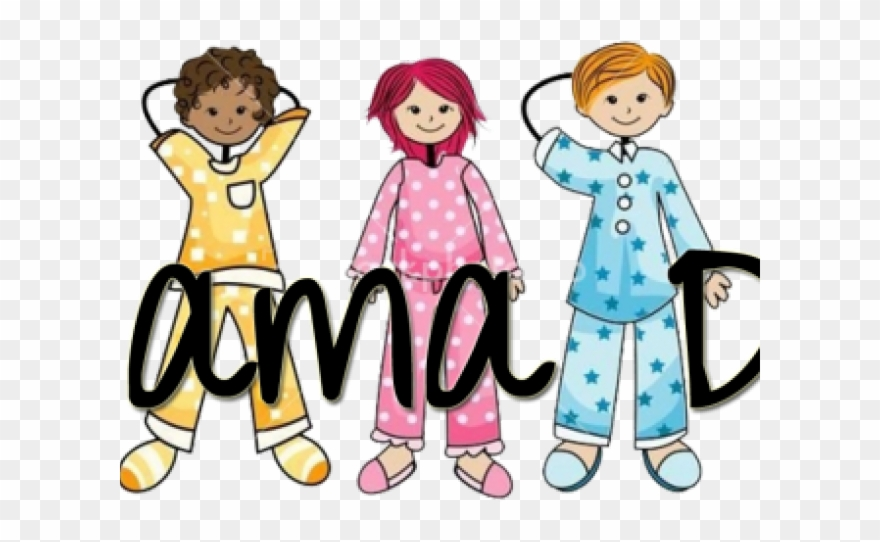 Costume Clipart Pajama Party.