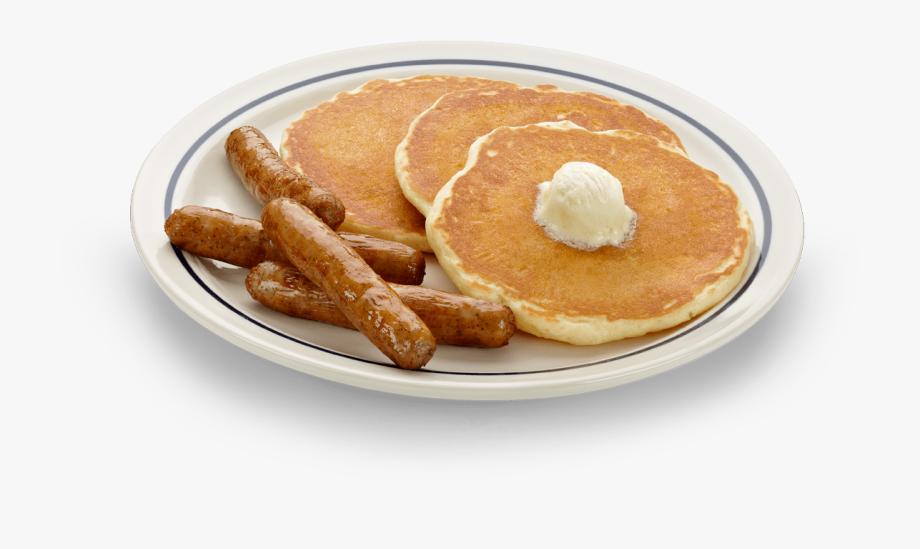 Sausage Pancakes Free Clipart 3.
