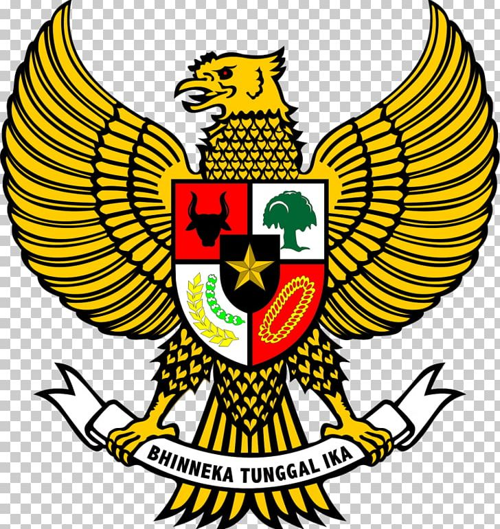 National Emblem Of Indonesia Garuda Pancasila PNG, Clipart.