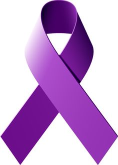 Pancreatic Cancer Ribbon Clip Art.