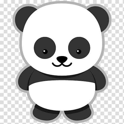 Panda , Giant panda Bear Red panda , panda transparent.