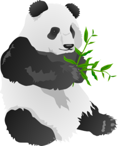 Clipart panda bear pictures.