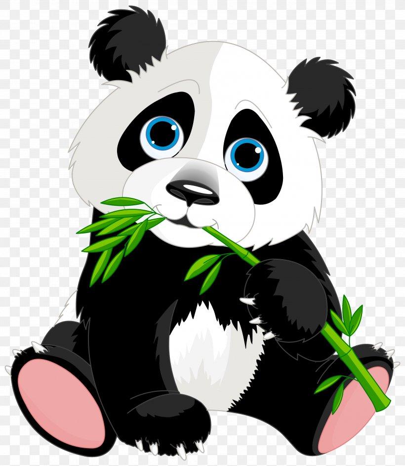 Giant Panda Bear Clip Art, PNG, 3562x4094px, Giant Panda.