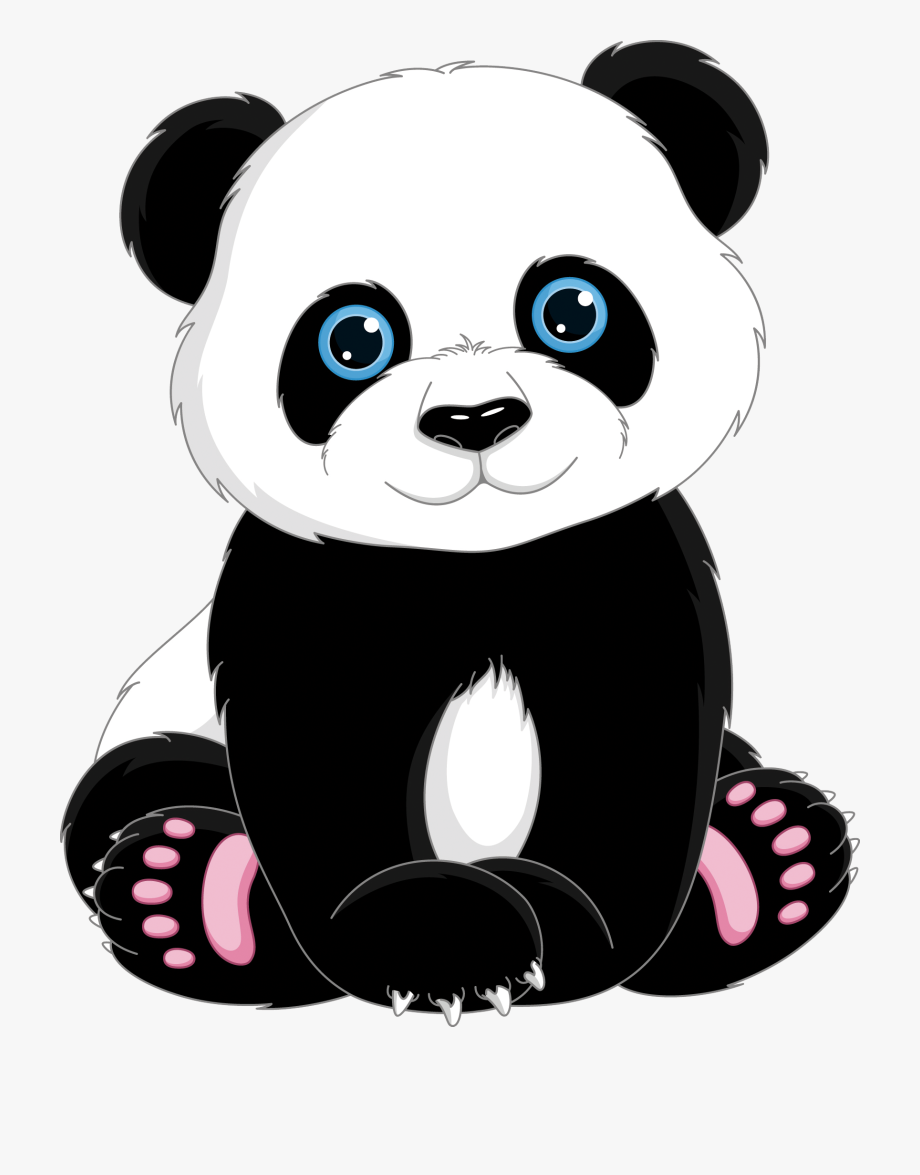 Clipart Bear Giant Panda.
