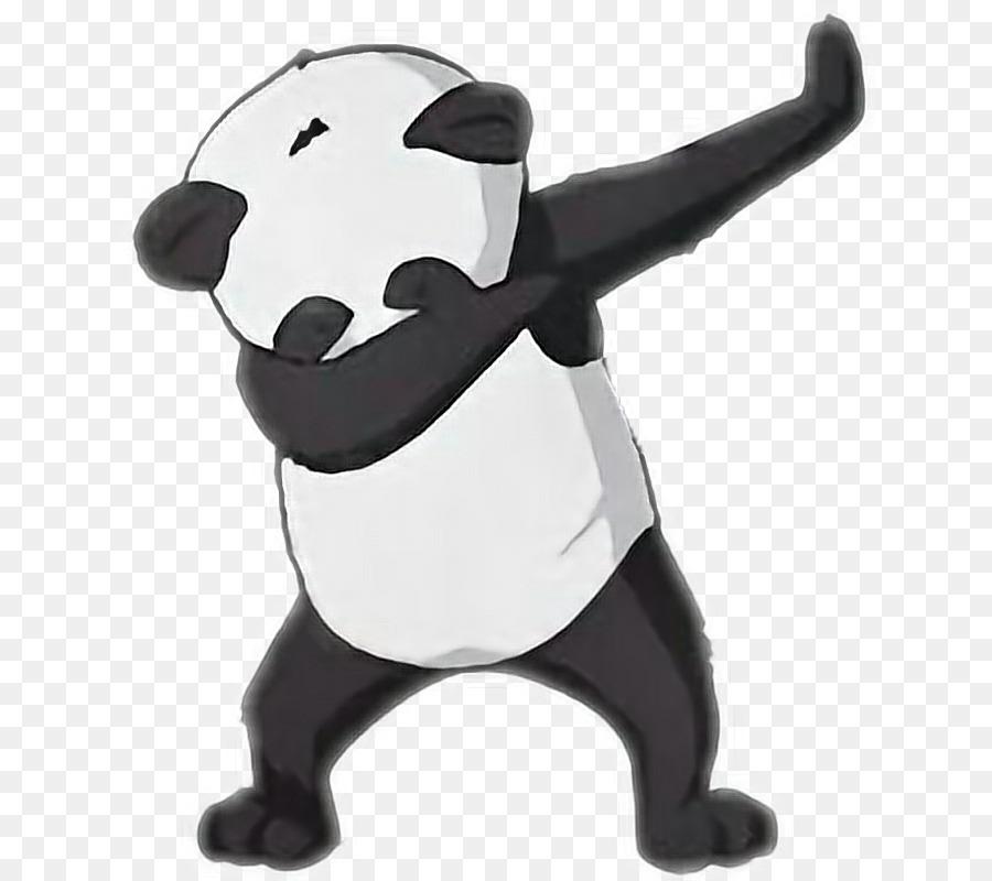 Giant Panda Bear Dab Animal.